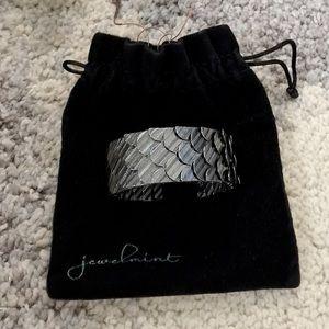 Jewelmint Black Swan Cuff Bracelet